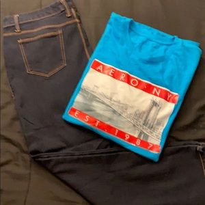 Ladies Jeans & T-shirt bundle